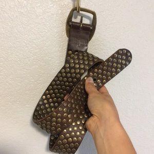 Leather studded Sundance Belt